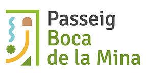 Imatge gràfica i logotip creat per Icònic de Reus pel Passeig Boca de la Mina
