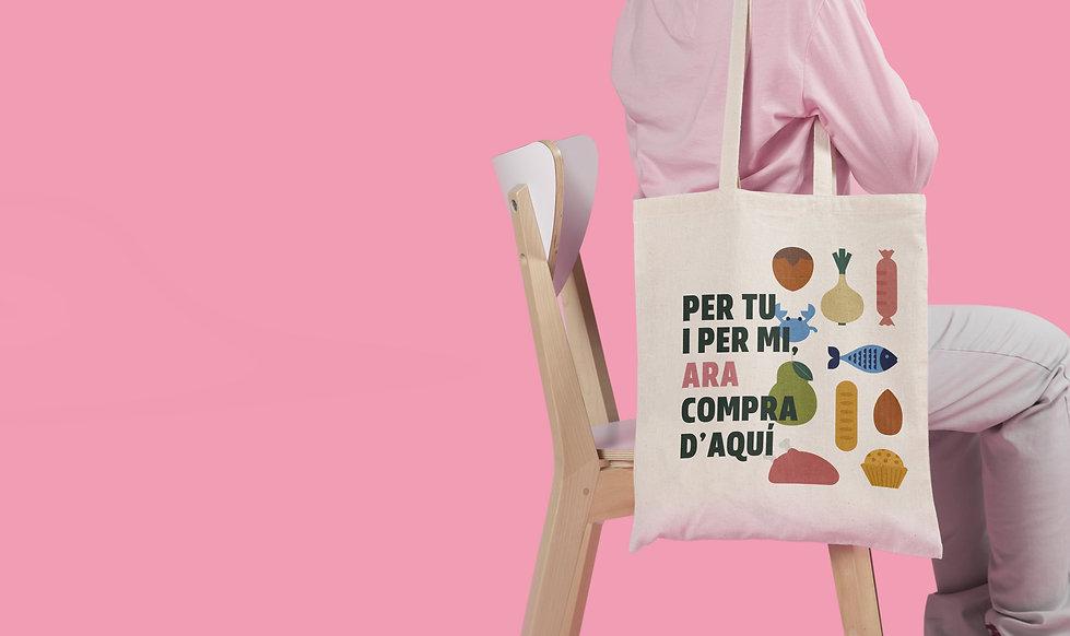 Disseny gràfic per la campanya de la Diputació de Tarragona realitzat per Icònic and co, estudi de comunicació de Tarragona