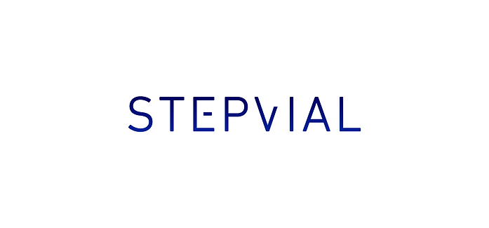 Logotipo de Step Vial creado por el estudio Iconicandco