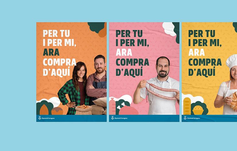 Disseny gràfic a Tarragona per Icònic and Co per la Diputació de Tarragona