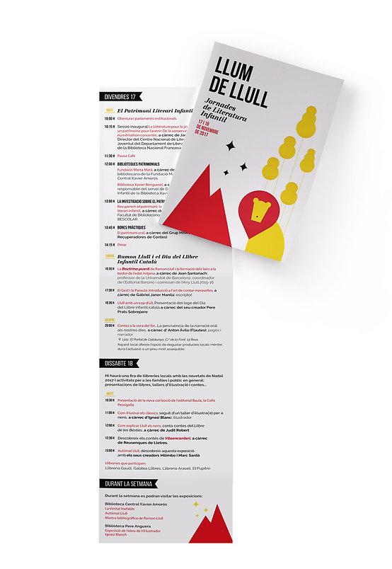 Icònic estudi de disseny de Reus dissenya el fulleto de les Jornades de Literatua Infantil de Reus