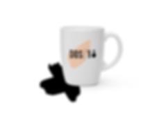 amb el Disseny gràfic de Reus per Icònic and Co h fet possibl el disseny de logotip i marca de la pastisseria DOS18 de Valls