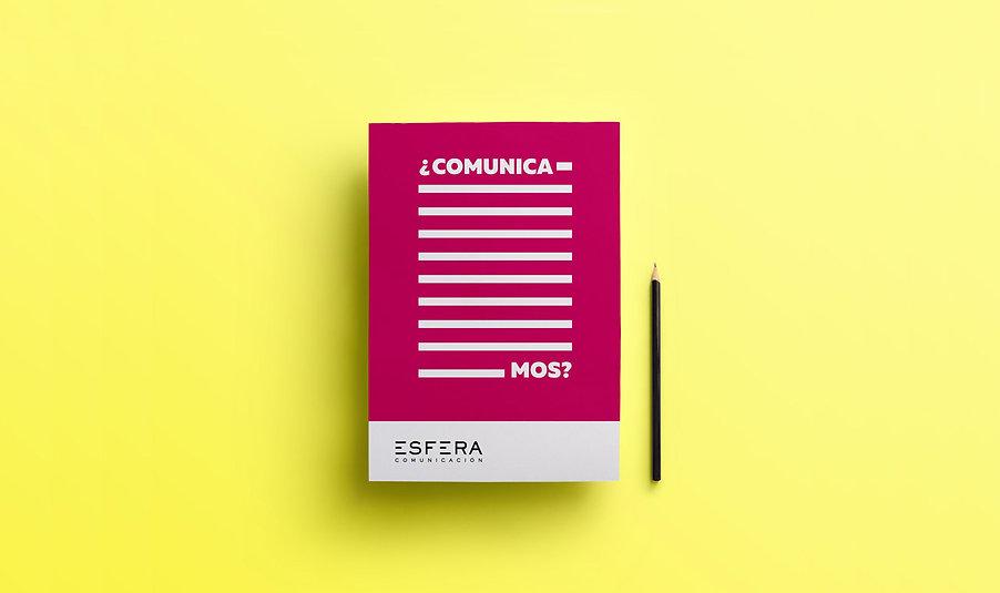 Diseño gráfico de Esfera comunicación por Iconicandco