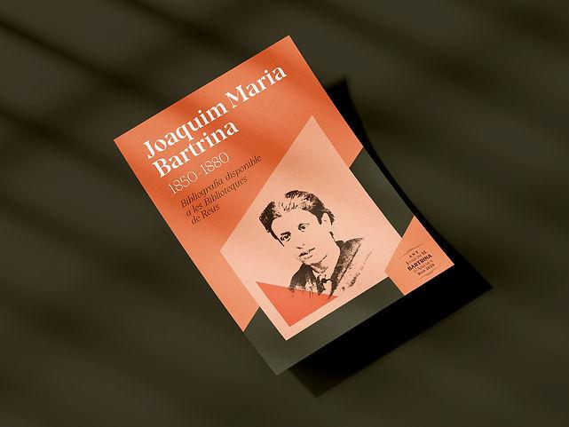 Estudi de disseny gràfic de Reus dissenya els fulletons de Joaquim Maria Bartrina per l'Ajuntament de Reus