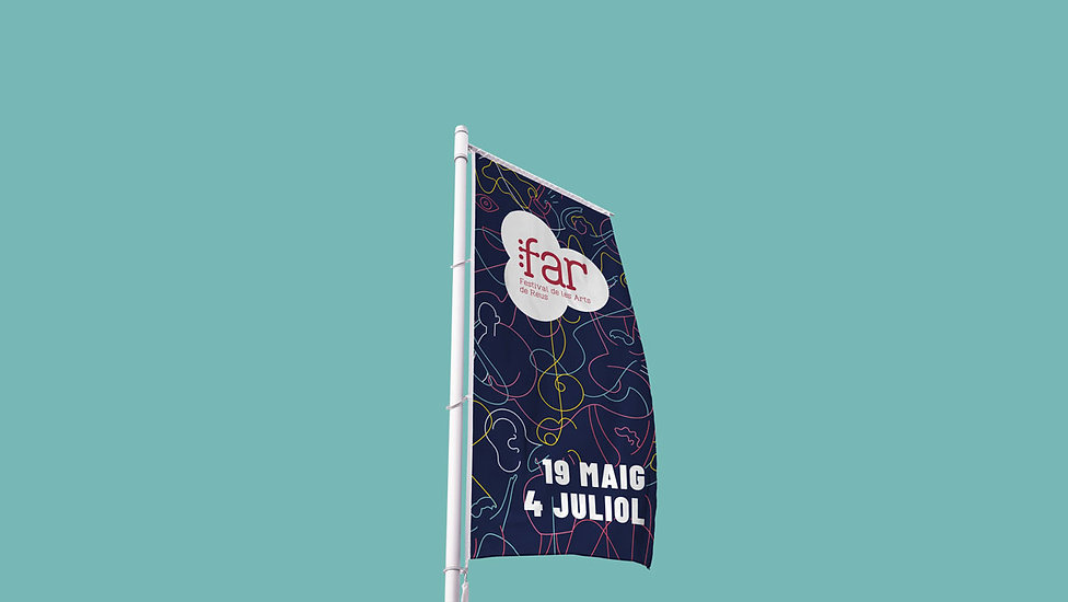 FAR Reus, Disseny gràfic a Reus del Festival de les Arts de Reus