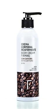 Envase body cream diseñado por Iconicandco