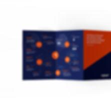 Disseny fulletó de Xipset solucions IT d Valls cret per l'estudi de disseny gràfic Reus: Icònic and Co