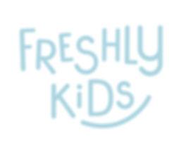 Estudi de disseny a Reus dissenya el logotip i la marca Freshly Kids de la marca Freshly Cosmetics