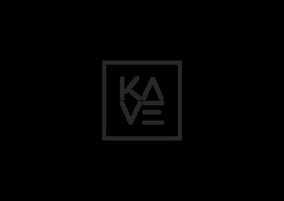diseño de marca Kave por el estudio de Reus Iconicandco