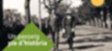 Disseny gràfic  per Icònic de Reus pel Passeig Boca de la Mina