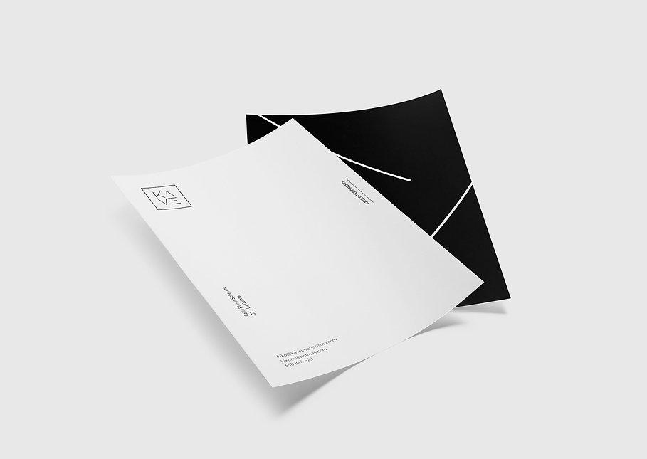 Diseño gráfico para Kave interiorismo