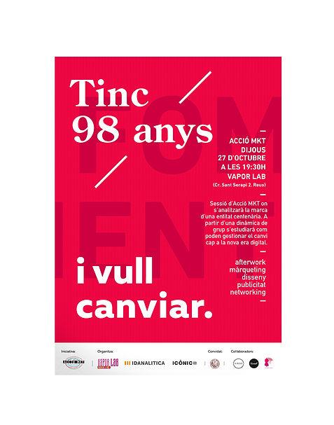 Disseny gràfic de cartell per Foment de Reus