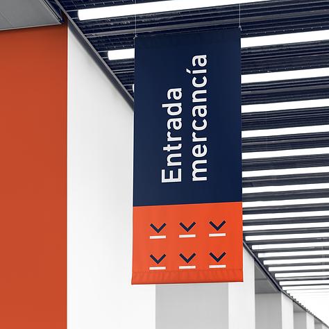 Disseny de cartel per Logimicar, disseny i creació de logotip a Reus per Icònic and co