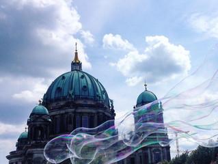 Caminhos de Berlim de dia