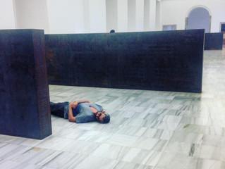 Dormindo no Museu