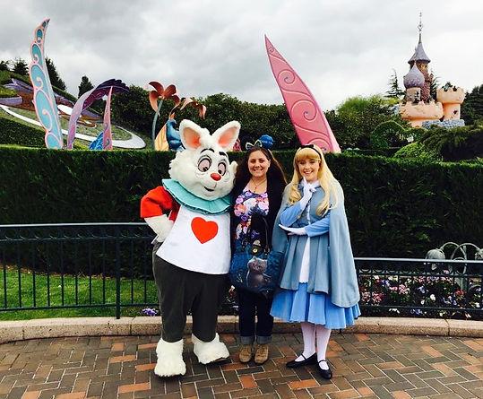 Paris Disney's Alice in Wonderland