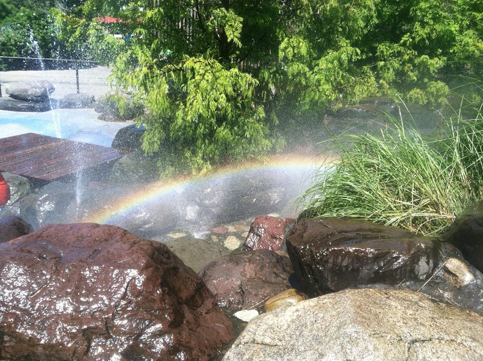 Rainbow in BK Bridge Park