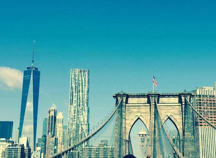 WTC from Brooklyn Bridge