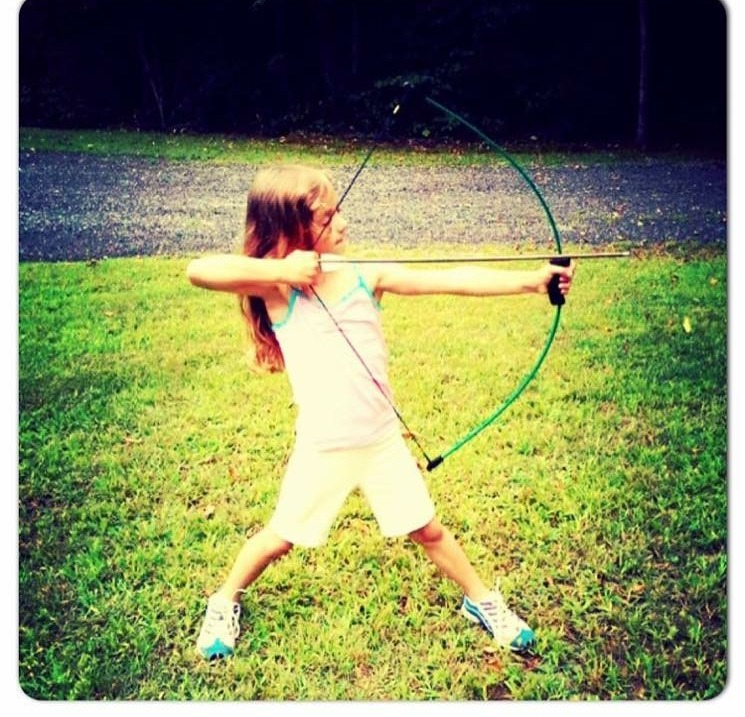 Katniss-in-Training