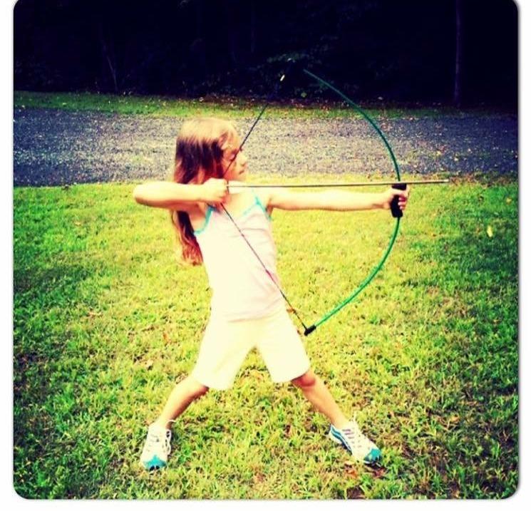 Katniss-in-Training