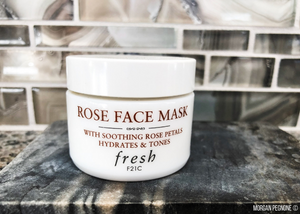 Fresh, masks, facial masks, rose face mask, beauty, skincare, rose petals, rose water, gel formula