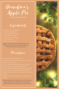 Grandma's Apple Pie recipe by Moshasmama from allrecipies.com