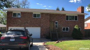 exterior, brick home, house, colorado, colorado springs