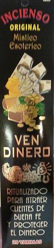 Ven Dinero Incense