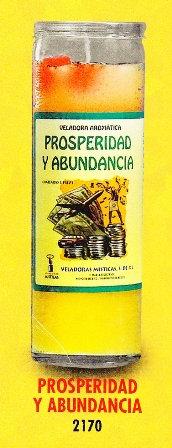 Prosperidad y Abundancia Candle