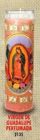 Virgen De Guadalupe Candle