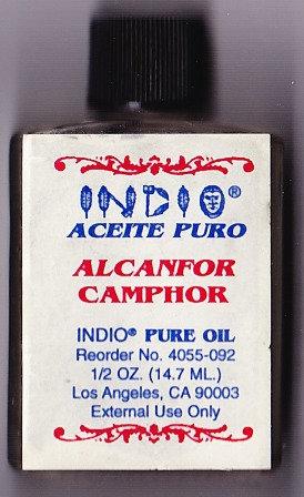 Alcanfor - Camphor Oil