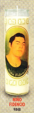 Niño Fidencio Candle