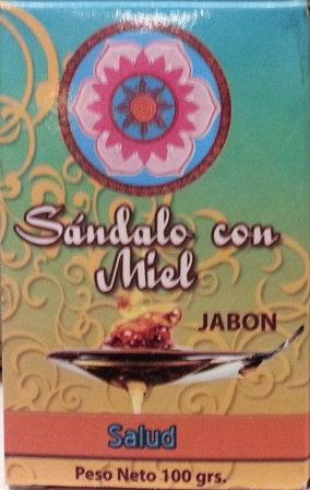 Jabon Sandalo con Miel