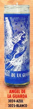 Angel De La Guarda Candle