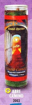 Abre Camino Candle