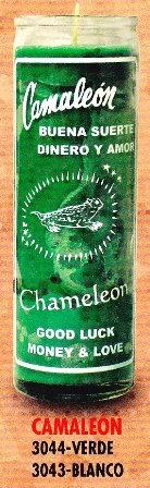 Camaleon Candle