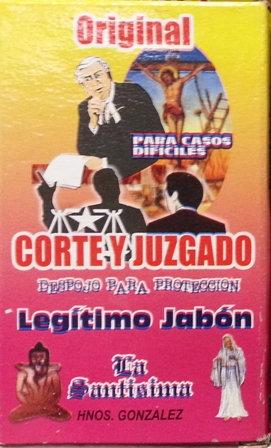 Jabon Corte y Juzgado