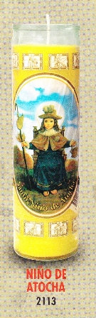 Niño De Atocha Candle