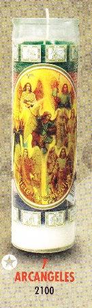 7 Arcangeles Candle