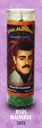 Jesús Malverde Candle