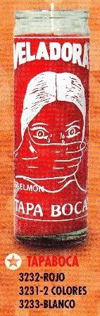 Tapa Boca Candle