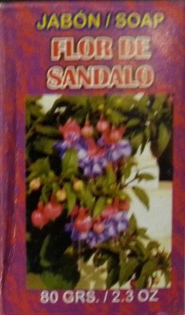 Jabon Flor De Sandalo
