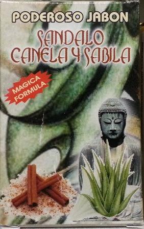 Jabon Sandalo Canela y Sabila