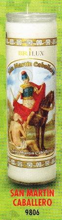 San Martín Caballero Candle