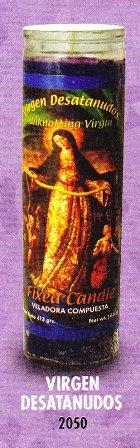 Virgen Desatanudos Candle
