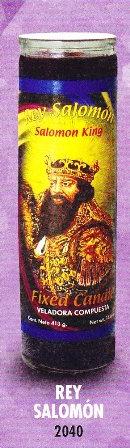 Rey Salomón Candle