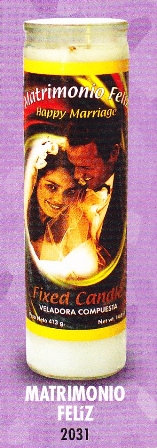 Matrimonio Feliz Candle
