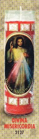 Divina Misericordia Candle