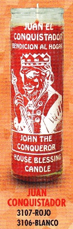 Juan Conquistador Candle