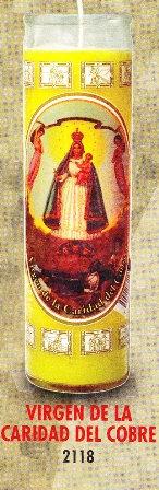 Virgen De La Caridad Del Cobre Candle
